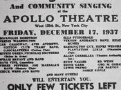 décembre 1937 rendez-vous l'Apollo pour show caritatif Harlem