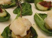 Salade saint-jacques d'alain ducasse