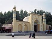 Mosquée Kashgar abords