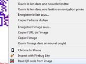 QRreader Extension Chrome pour lire code depuis votre ordinateur