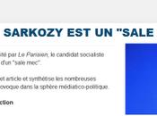 """Sarkozy, sale mec"""". polémique pour rien"""