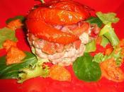 Feuilletée tomates crevettes grises