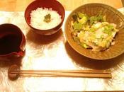 recette Légère Poisson blanc vapeur (Sakana Kaori Mushi) Légumes vinaigrés trois couleurs (Sanshoku Sunomono)
