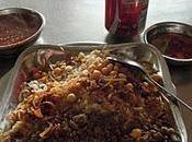 kochery, plat populaire égyptien