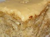 Gâteau bananes, glaçage sucre crème