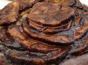 tarte fine pommes chocolatées camembert