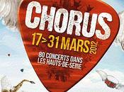 Festival Chorus concerts mars, programmation d'enfer!