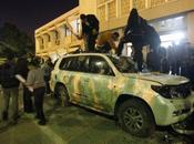 Libye: siège Conseil national libyen (CNT) attaqué manifestants