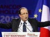 Présidentielles 2012 Hollande s'envole Bourget annonce 1ères propositions