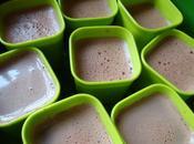Petits flans chocolat...micro