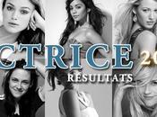 Actrice 2011 Résultats