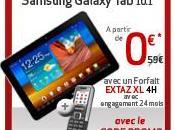tablette Samsung Galaxy gratuite chez Virgin Mobile vente flash