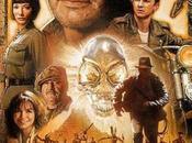 "Affiche définitive ""Indiana Jones Royaume Crâne Cristal"""