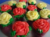 "Cupcakes ""bouquet roses"""