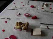 déco table pour Saint-Valentin