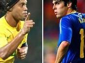 Liste Brésil pour match amical face Bosnie: Ronaldinho In,Kaka