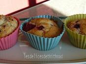 muffins citron vert framboises