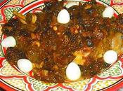 Épaule d'agneau fruits secs caramélisés
