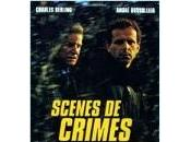 """Soirée André Dussolier 13ième Rue, deux polars noirs """"Scènes crimes"""" """"Cortex"""""""