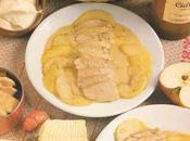veau pommes reinettes cidre brut