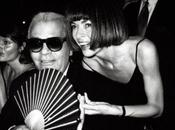 placesweusedtogo: Anna Wintour Karl Lagerfeld, back when...