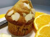 Muffins orange amandes