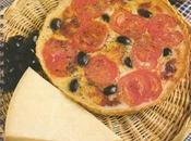 Tarte fine tomate tomme fraîche cantal Salers