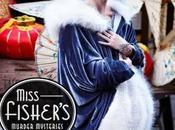 (Pilote AUS) Miss Fisher's Murder Mysteries détective caractère charme dans l'Australie années