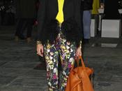 veux pantalon fleuri comme Olivia Palermo