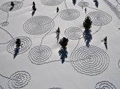 Snow Drawings, land hivernal