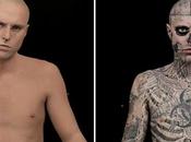 Tatouage campagne Dermablend avec Zombie