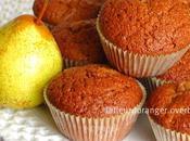 Muffins poires