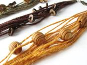 Tuto bijoux: fabriquer bracelets corde naturelle avec perles boutons bois