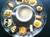 recette Café Gourmand Mignardises massepain (pâte d'amande) fruits déguisés