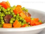 Tajine petits pois carottes