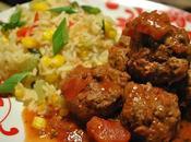 Boulettes viande salsa