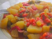 Ratatouille Poivrons, tomates pommes terre... toute simplicité