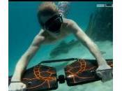Subwing pour nager rapidement sous l'eau