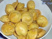 Mini madeleines jambon cumin (apéritif)
