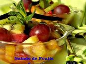 Salade fruits vanille