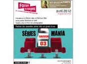Festival SERIES MANIA Forum images mi-avril