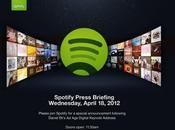 Conférence Spotify avril: GROSSE annonce?...