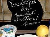 mange quoi demain Escalopes poulet airelles pommes
