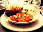 Gambas, bisque, tartine...
