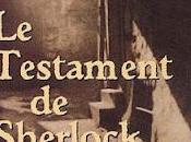 TESTAMENT SHERLOCK HOLMES Garcia
