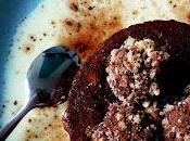 Entremet chocolaté mousse nougat abricots