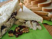 Garniture sandwich poulet canneberges séchées
