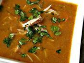 Hrira -Harira-H'rira soupe poulet carrotes gingembre