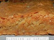 Blondies caramel