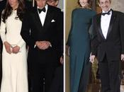 Kate Middleton Carla Bruni portent même robe d'écart
